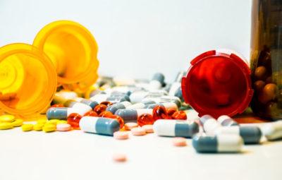 Medication and bottles